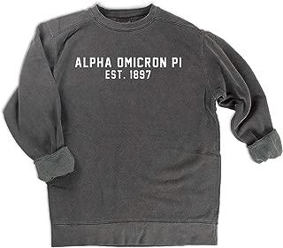 alpha omicron pi comfort colors