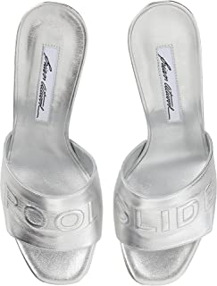 brian atwood silver shoes