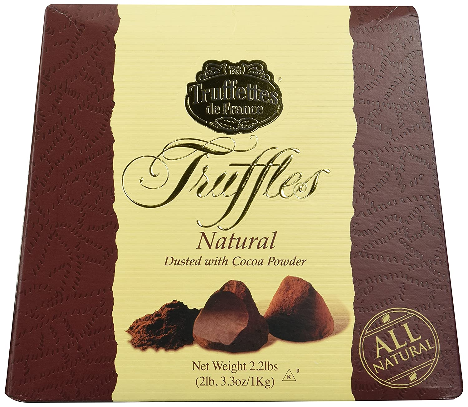 Chocmod Truffettes de France 2.2lbs mart All Truffles Beauty products Natural i 1Kg