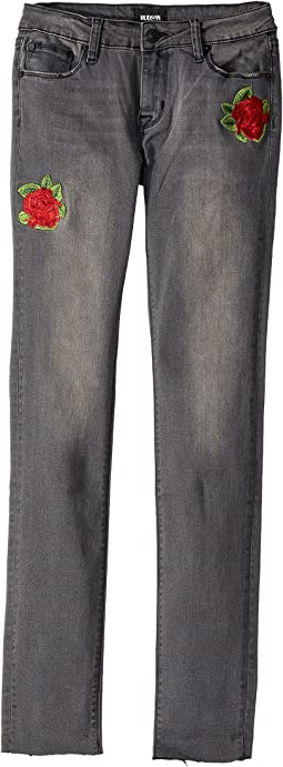 Hudson Kids - Storm Skinny Jeans in Noir (Big Kids)