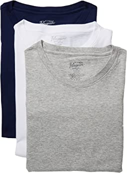 Original Penguin - Slim Fit 3-Pack Crew T-Shirt
