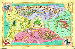 Best wizard of oz map poster Reviews