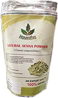 Natural Colorless Henna Powder or Senna Powder for hair (Does Not Color Hair) Product of Havintha,Natural Cassia obovata 115g