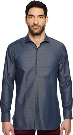 Ted Baker - Wroxam Textured Solid Dress Shirt