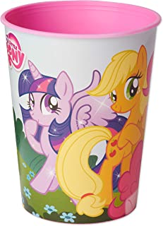 American Greetings My Little Pony Party Supplies, Plastic Party Cups (12-Count)
