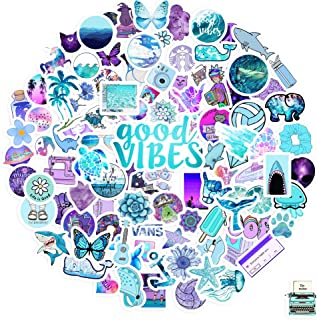 B-geuse Cute Vsco Stickers for Water Bottle Hydro Flask Laptop Waterproof Aesthetic Vinyl Colorful Decal Stickers for Teen...