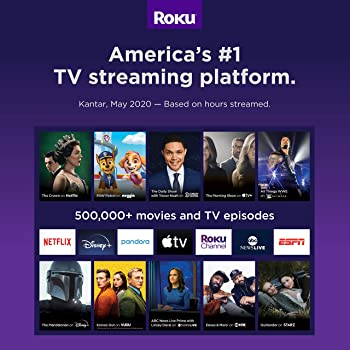 Roku Streaming Stick plus | 4K/HDR/HD Streaming Player with 4X The Wireless Range & Voice Remote with TV Power and Vo...