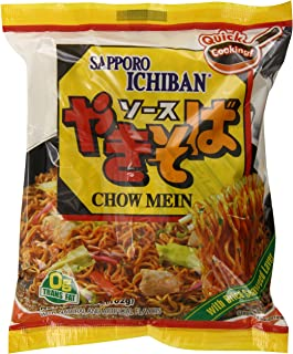 S'Proichi Sapporo Yakisoba Chow Mein Noodles, 3.60 Ounce (Pack of 24)
