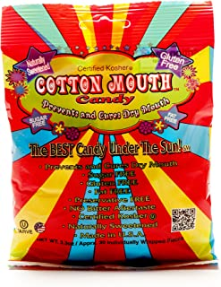 Cotton Mouth Candy Fruit Mix Bag 3.3 Ounce (97ml) (3 Pack)