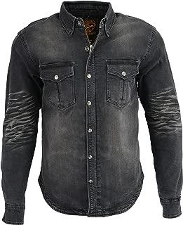 Milwaukee Performance Men's Denim Biker Shirt With Aramid (Black, X-Large)