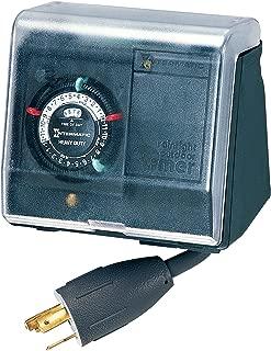 Intermatic P1131 Plug In Timer, Black