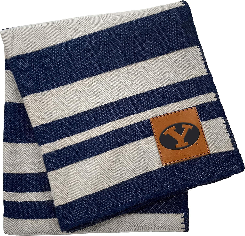 Super sale Pegasus Sports NCAA Unisex-Adult Stripe Blanket Acrylic Superior