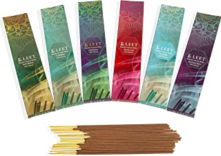 Eleet Hand Rolled Masala Incense Sticks- 100% Pure & Natural Sticks for Meditation Made in India 6x20 (Stress Free Lifestyle)