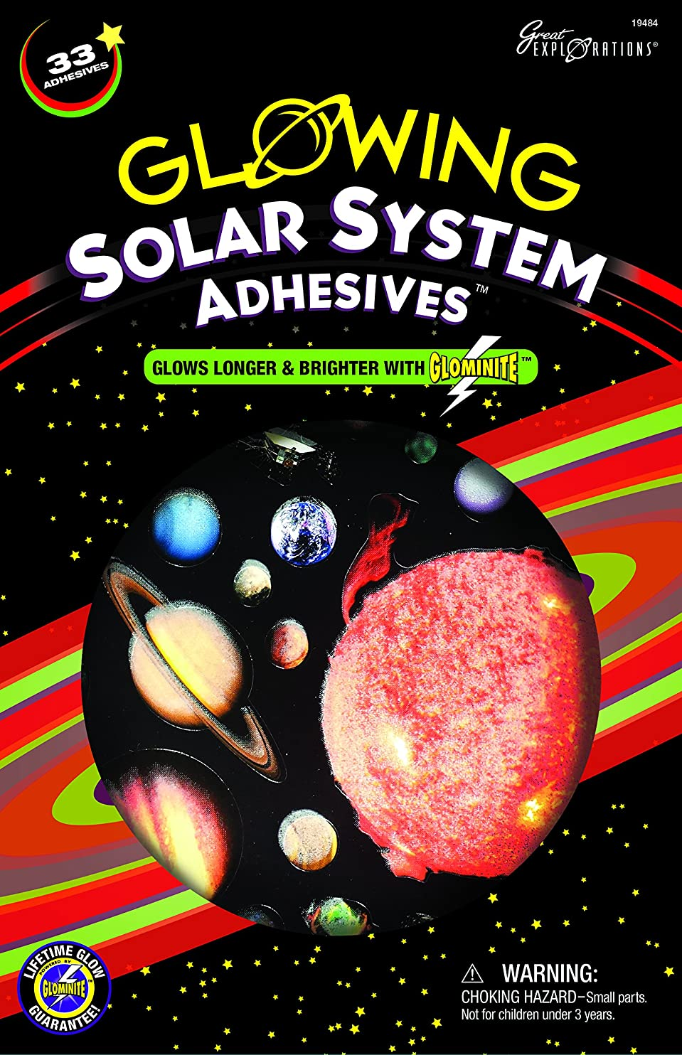 Great Explorations Solar System Adhesives oyqleryhmej51