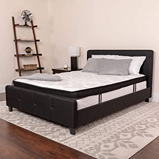 Flash Furniture Capri Comfortable Sleep 12 Inch Memory Foam and Pocket Spring Mattress, King in a Box