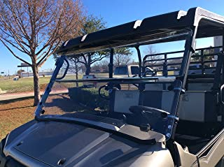 A&S AUDIO AND SHIELD DESIGNS 2015-2020 KAWASAKI MULE PRO-FX,PRO-FXT, PRO-DX, PRO-DXT FOLD DOWN WINDSHIELD