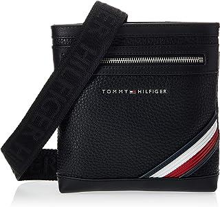 حقيبة طويلة تمر بالجسم داون تاون صغيرة من تومي هيلفجر، لون اسود، طراز AM0AM05580