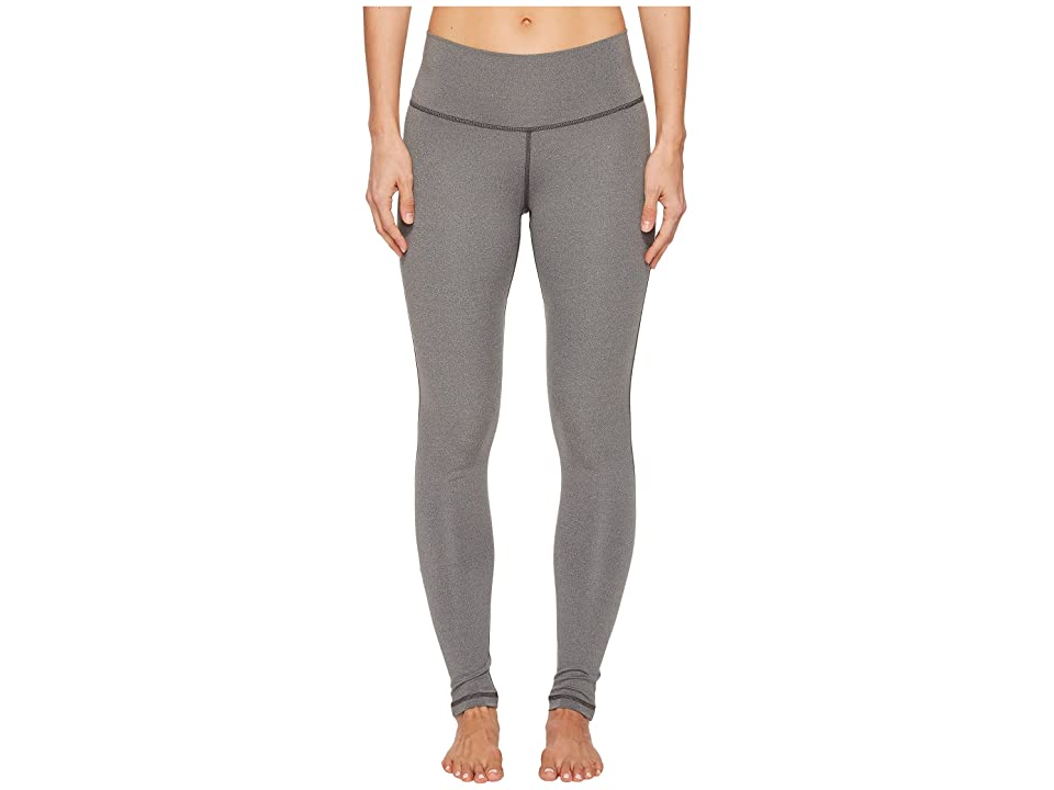 adidas Believe This High-Rise Long Tights (Dark Grey Heather) Women