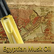 Pure Egyptian Musk Oil (Civet Blend) Imported From Egypt 1/3oz. 10ml. By Natural Cosmetics by Skynyxx