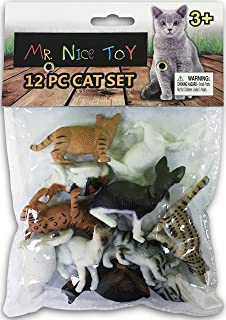 New Mr. Nice Toy 12 Piece Cat Collection Assortment 1