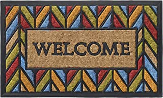 HF by LT Chevron Low Profile Doormat, 18 x 30 inches