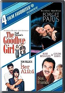 Romances - 4 Film Favorites: (Best Friends / Forget Paris / The Goodbye Girl / Her Alibi)