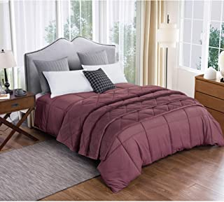 St James Home Microfiber Comforter and Velvet Blanket Set Red King