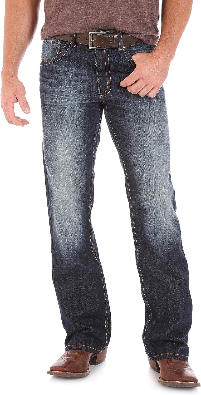 Wrangler Mens 20x No. 42 Vintage Boot Cut Jeans
