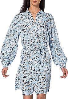 PIECES Pcgertrude LS Shirt Dress Vestido para Mujer