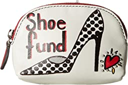 Fashionista Shoe Fund Mini Coin