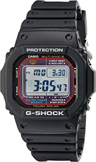 Men's G-Shock Quartz Watch with Resin Strap, Black, 20 (Model: GWM5610-1)