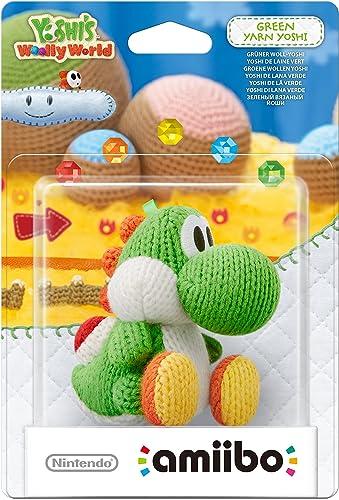 Amiibo 1071731 'Yoshi's Woolly World' - Yoshi de laine : vert