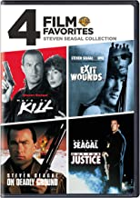 4 Film Favorites: Steven Seagal (Exit Wounds, Hard to Kill, On Deadly Ground, Out for Justice)