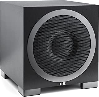 Best ELAC S10EQ Debut Series 400 Watt Powered Subwoofer by Andrew Jones with AutoEQ Review