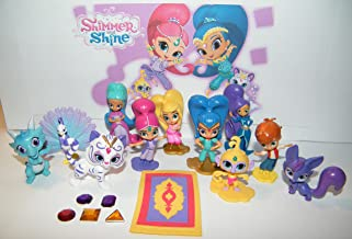 Shimmer and Shine Party Favors Goody Bag Fillers 17 Set with Figures and