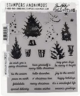 Stampers Anonymous Tim Holtz Cling Stamps, Multi-Colour, 22.86 x 17.78 x 0.76 cm