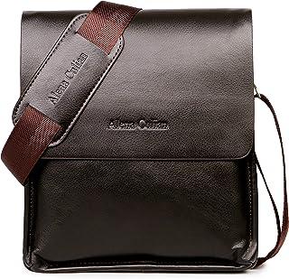 Messenger Bag For Men Classic Business Crossbody Shoulder Bags Casual Man Bag(brown)