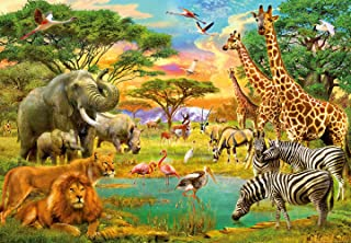 Ideal Decor On Safari Wall Mural