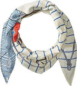 Polo Ralph Lauren Polo Nautique Diamond Shape Scarf