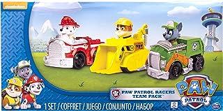 PAW PATROL Patrulla Canina - Pack de 3 Vehículos al Rescate Marshall + Rubble + Rocky