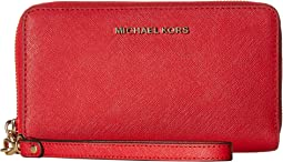 MICHAEL Michael Kors - Jet Set Travel Large Flat MF Phone Case