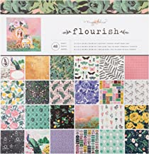 Maggie Holmes Flourish Patterned 48 Sheets 12 x 12 Paper Pad
