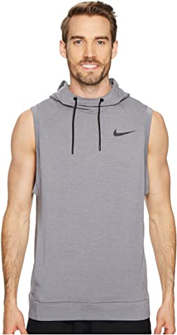 Dry Training Pullover Sleeveless Hoodie