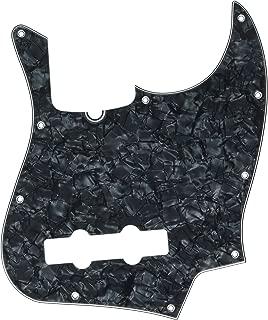Fender Standard Jazz Bass Pick Guard (10-Hole) 4-Ply - Black Pearl