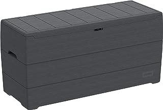 Duramax 86600 Resin Outdoor Storage Deck Box, Gray