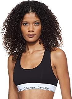 Calvin Klein Modern Cotton Unlined Bralette Sujetador Deportivo para Mujer