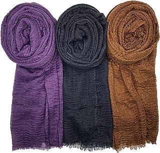 سری روسری زنانه روسری WANBAO 3PCS روسری شیک