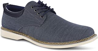 Members Only Men's Chambray Oxford Classic Business Casual Shoes