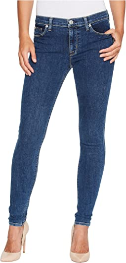 Hudson - Nico Mid-Rise Super Skinny in One Way