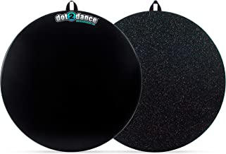 dot2dance,Genuine Brand, Authentic Marley Portable Dance Floor, Multi-Use with Gym MAT Back, Turn Board,Tap Board & Beyond.It's Your Safe SPOT on a Authentic Marley DOT - 4 Sizes